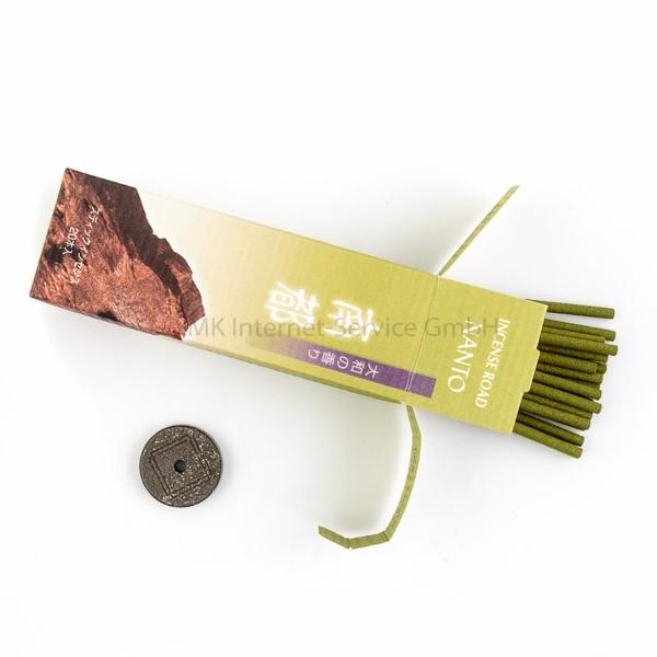 Incense Road Nanto  (Southern Capital) Pocket-Set - Japanische Räucherstäbchen Shoyeido (20 Stb.)