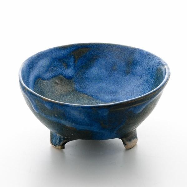 Japanische Räucherschale Ike (Teich), blau