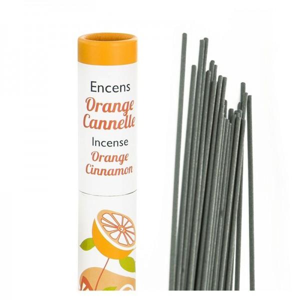 Zimt, Orange, Gewürznelke - Pflanzliche Räucherstäbchen Herbosense Les Encens du Monde