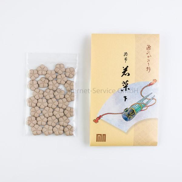 Japanische Räucherblüten Wakana (Junge Kräuter) Genji Serie Nachfüllpackung - Shoyeido Räucherwerk