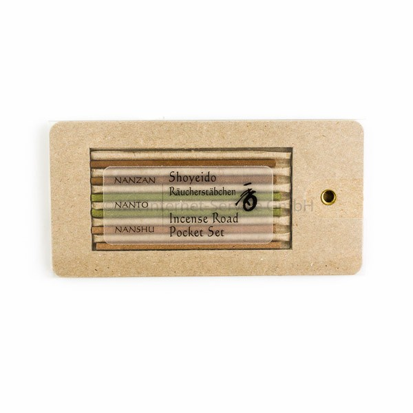 Incense Road Pocket-Set - Japanisches Räucherstäbchensortiment von Shoyeido