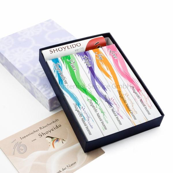 Geschenkset Angelic - Japanische Räucherstäbchen Shoyeido