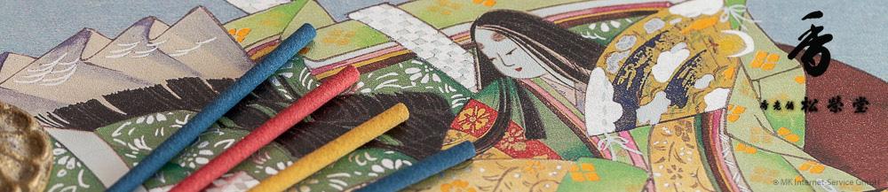 Japanische Räucherstäbchen von Shoyeido