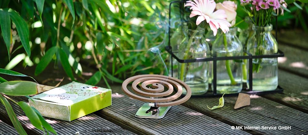 Sommer-Räucherwerk gegen Mücken