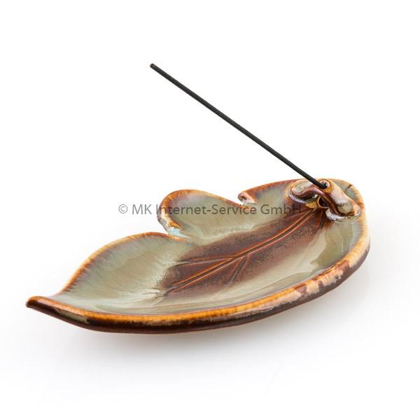 Japanischer Räucherstäbchenhalter Blatt Desert Sage