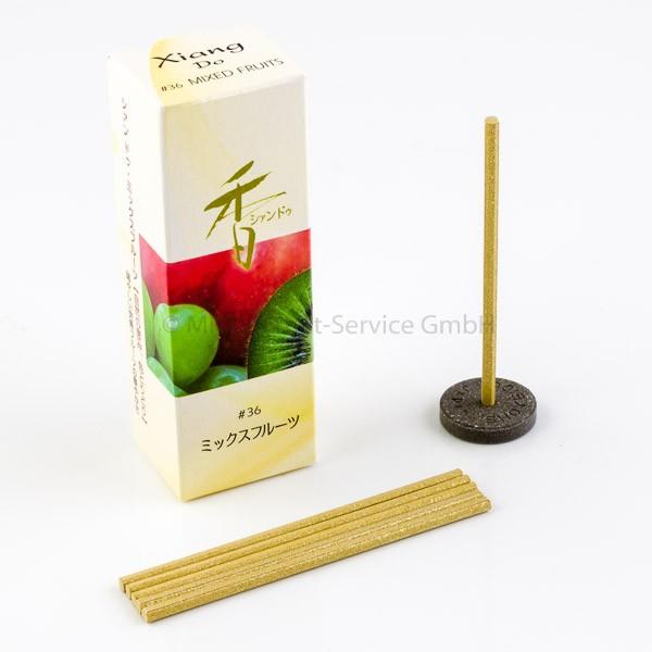 Xiang Do Früchtemix (Mixed Fruits) - Japanische Räucherstäbchen Shoyeido