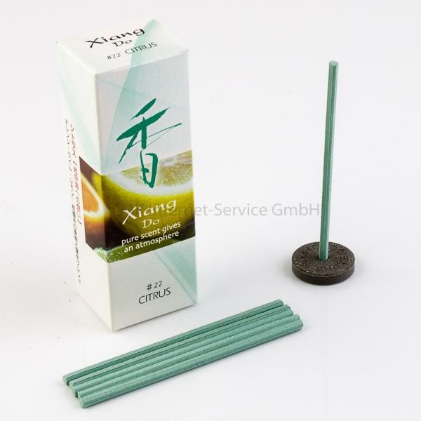 Xiang Do Zitrus (Citrus) - Japanische Räucherstäbchen Shoyeido