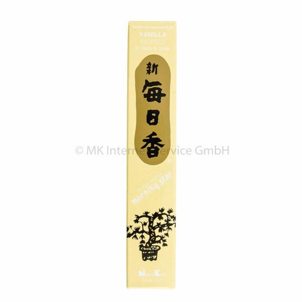 Morning Star Vanille - Japanische Räucherstäbchen Nippon Kodo