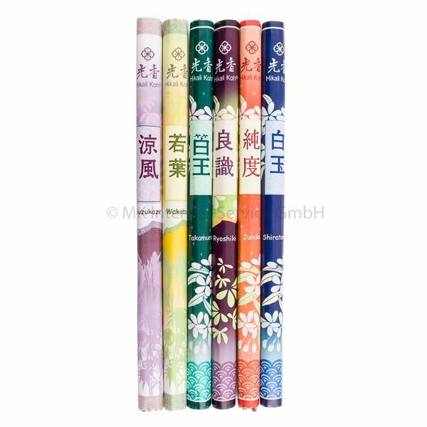 Sortiment Classics - Japanische Räucherstäbchen Hikali Koh