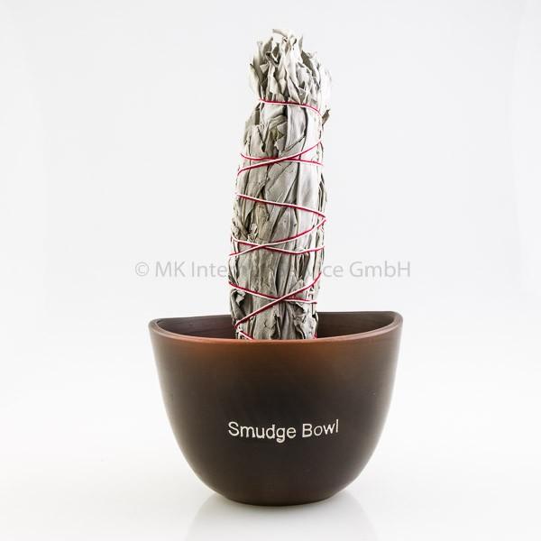 Smudge Bowl für Smudge Sticks, schwarz