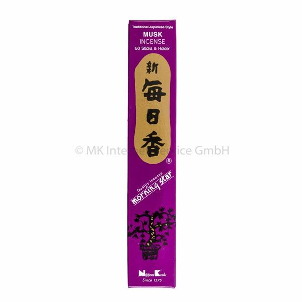 Morning Star Moschus - Japanische Räucherstäbchen Nippon Kodo