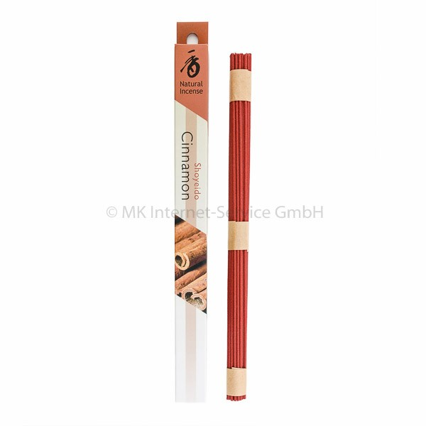 Overtones Cinnamon (Zimt) - Japanische Räucherstäbchen Shoyeido