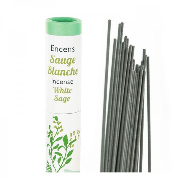 White Sage - Pflanzliche Räucherstäbchen Herbosense Les Encens du Monde
